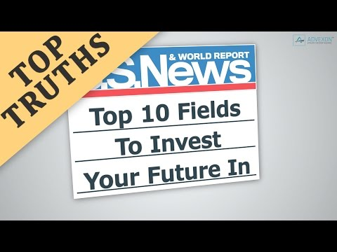 Top 10 Fields To Invest Your Future In