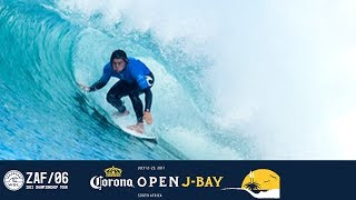 Jordy Smith, Conner Coffin, and Michael February battle in Round One, Heat 5 at the 2017 Corona Open J-Bay. #WSL #jbay Subscribe to the WSL for more ...