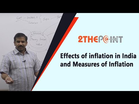Effects of Inflation and Measures of Inflation