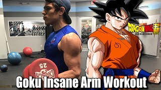 Ever wonder how to get big arms? GET SOME SAIYAN ARMS!? Here's my bicep superset workout/arm superset workout that gave me the Super Saiyan arms that Ive worked hard to get! ADD THIS INTO YOUR WORKOUT! Try it out and let me know how your arm day goes!