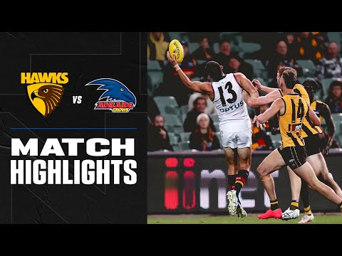 Crows' breakthrough win | Hawthorn v Adelaide Highlights | Round 15, 2020 | AFL