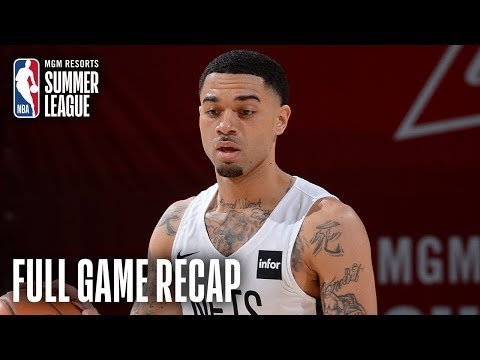 Video: WIZARDS vs NETS | WSH & BKN Battle Down To The Wire | MGM Resorts NBA Summer League