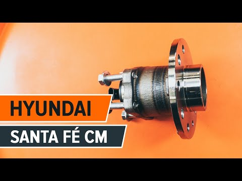 How to replace a Rear wheel bearing on HYUNDAI SANTA FÉ CM TUTORIAL | AUTODOC