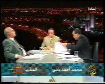الصراع الحضاري في الجزائر/لقاء زيتوت والهاشمي الشريف 7 من 9