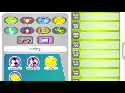 Video of eCaring CareTracker