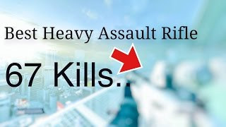 BEST HEAVY ASSAULT RIFLE BUILD!?!! 67 KILLS Gameplay CTF-Metro...