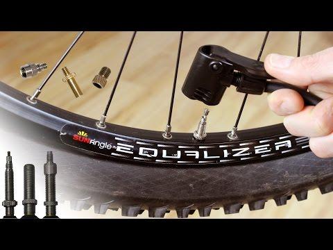 Fahrradreifen aufpumpen (Sclaverand-, Auto & Dunlopventil) - ausführlicher Workshop