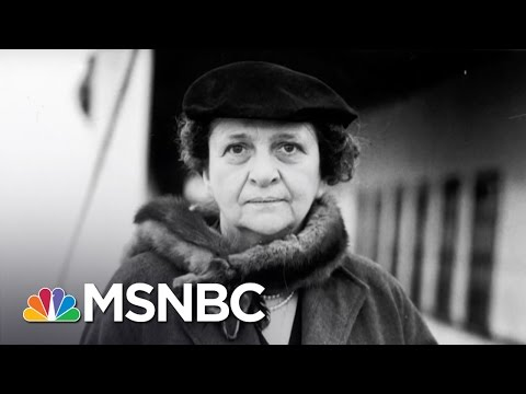 Frances Perkins: First Female Presidential Cabinet Member | 7 Days Of Genius | MSNBC