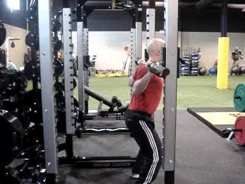 Powerlifting squat & olympic style squat