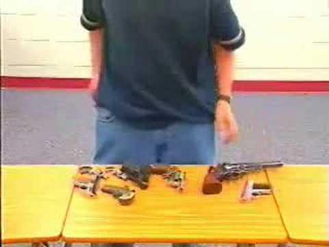 身為一個刑警,身上可以攜帶多少武器?..多到不可思議!