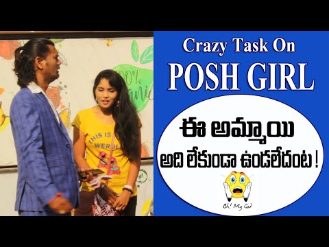 Crazy Task On Posh Girl | Proposal Task With Twist | #tag Entertainments
