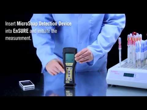 8 hour MicroSnap Coliform & E. coli: Same-shift results! Instructional Demo