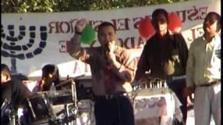 .ISRAEL GONZALEZ EN MARCHA ACUATICA- 2008-  3/ PARTE.  Www.radioelohim.net