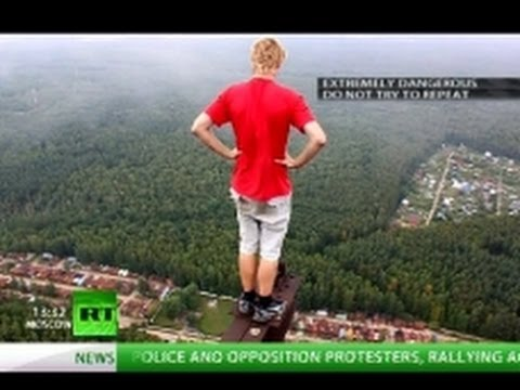 RussiaToday - Meet young people who spend their free time climbing construction sites and towers and ignoring safety ropes - all in search of adrenaline. The higher they g...
