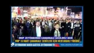MHP ZeytinburnuÇanakkale Şehitleri İçin Mehteranlı Yürüdü