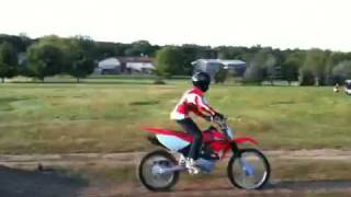 10. Alec's Honda CRF 100 F