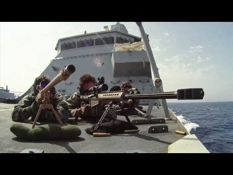 Captain Phillips; Sniper Shoot out Scene