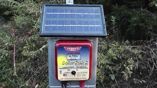 My Solar Electric Fence Setup Vidinfo