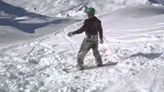 Snowboard Backflip&Bails 2009