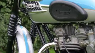 4. Memorable MC 1960 Triumph Bonneville