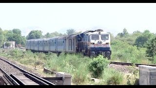 Nonton INDIAN BEAUTY : Dashing Ajmer Shatabdi Express Curves Beautifully with TKD WDP4D : INDIAN RAILWAYS Film Subtitle Indonesia Streaming Movie Download