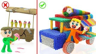 Video SUPERHERO BABY BUILDS MAGNETIC TRUCK 💖 Play Doh Cartoons Animation MP3, 3GP, MP4, WEBM, AVI, FLV Juni 2019