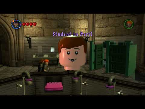 LEGO Harry Potter: Years 1-4 - All Hogwarts Student in Peril Locations (Complete Oveworld Guide)