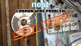 "Video Nest Thermostat No Common Wire- PROBLEM SOLVED -How To Install Nest Missing Common ""C"" Wire MP3, 3GP, MP4, WEBM, AVI, FLV Juli 2018"
