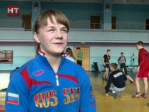 Новгородка Надежда Соколова примет участие в крупном международном турнире по спортивной борьбе