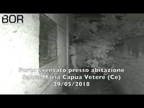 Furto sventato presso abitazione Santa Maria Capua Vetere (CE) - Sistema BOR Security