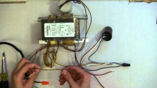 how to wire ballast 1
