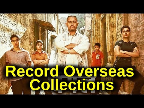 Aamir Khan Dangal creates history in overseas ! Highest collections in Overseas History !