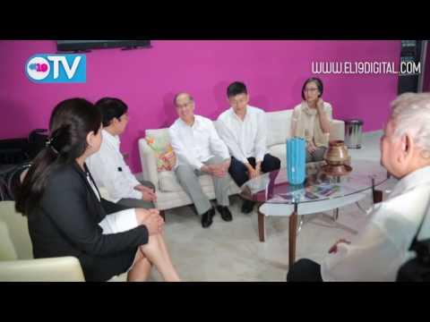 Canciller de Taiwán arriba a Nicaragua