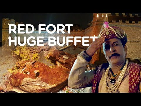 Lal Qila | Quails & Full Steam Lamb | The Red Fort Buffet | Karachi Street Food