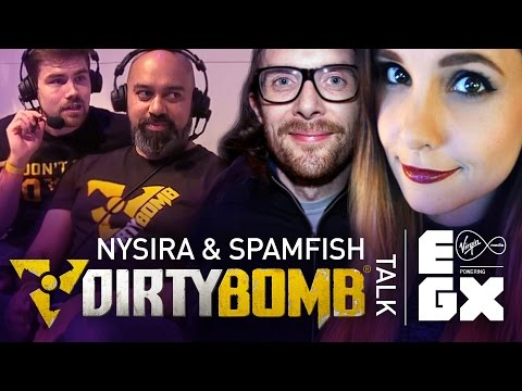 Dirty Bomb: Nysira & Spamfish talk DB at EGX