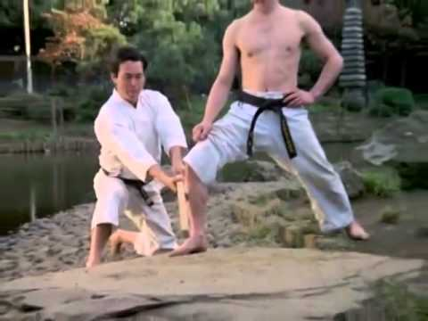 Old School Makiwara and Tameshiwari Karate Training