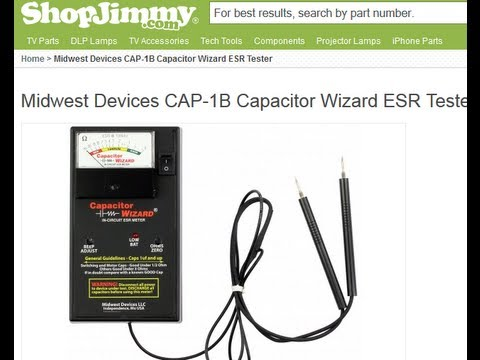 Capacitors - EASY WAY TO TEST CAPACITORS IN CIRCUIT HOW TO USING MULTIMETER DIGITAL METER TESTER READS EVERYTHING AC DC VOLTS CAPS RESISTORS DIODES TRANSISTORS IC IN SAMS...