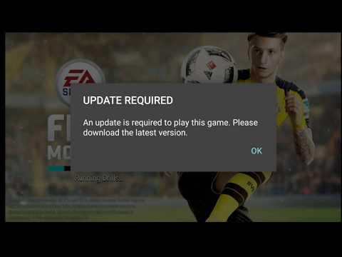 Fifa 17 Mobile - How To Update Fifa Mobile - Android - Latest Version - APK -Error Message V1.01