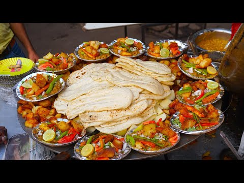 Best Street Foods in Delhi  Satisfying Video  Best Indian Street Food