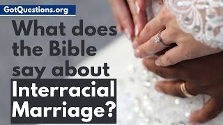 What does the Bible say about interracial marriage? Is interracial dating, or interracial relationships a sin? This video reveals what the Bible says about mixed ...