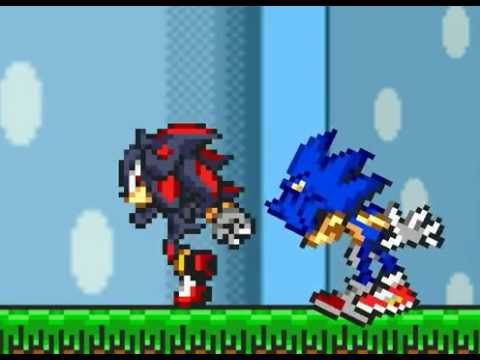 Funny! Sonic vs Shadow