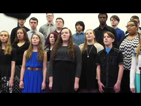 cchs Choir performance, April 2, 2016