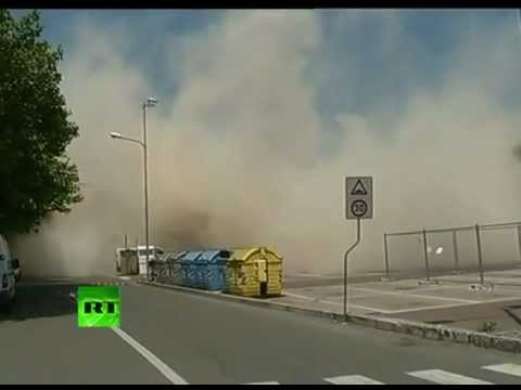 Italy earthquake: Video of house collapsing after killer quake shakes Modena