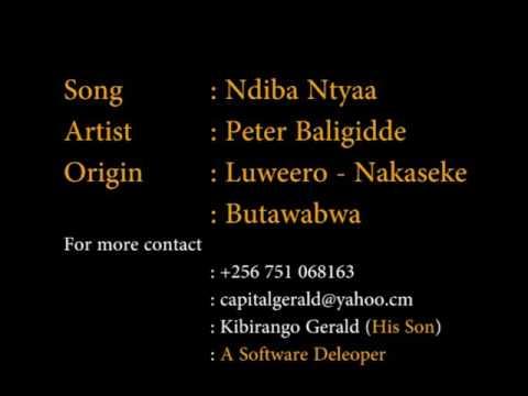 Peter Baligidde - Ndiba ntya (видео)