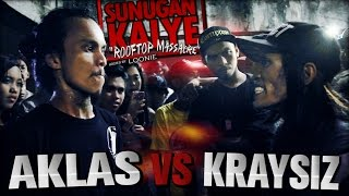 Video SUNUGAN KALYE - Aklas VS Kraysiz MP3, 3GP, MP4, WEBM, AVI, FLV September 2018