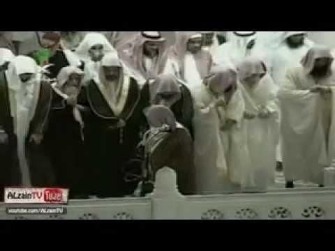 بعض ائمة الحرم المكي يصلون خلف الشيخ محمد السبيل 1420