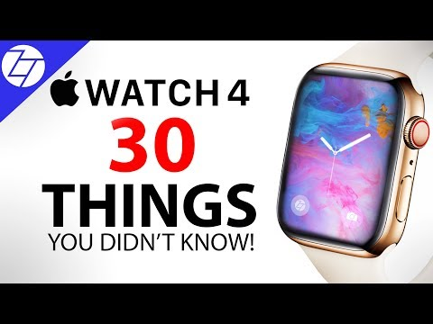 Apple Watch 4 - 30 Things You Didn't Know! (видео)