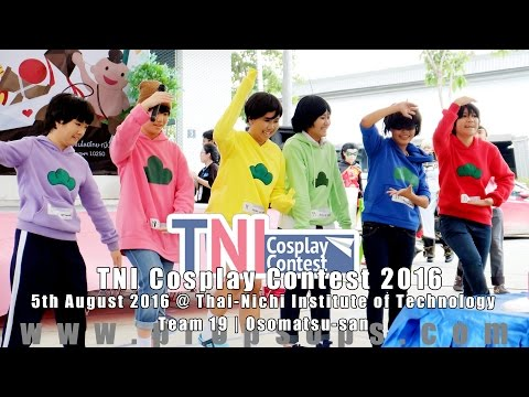 TNI Cosplay Contest 2016 | Team 19 – Osomatsu-san