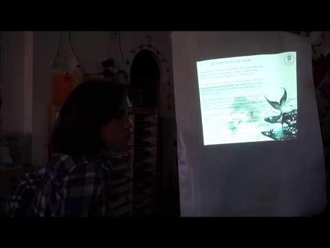 «La Minute de Lili» 5 février 2015 – La 2ème visite d'Anne-Claire Bihan-Poudec, Glaciologue d'APECS
