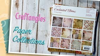 Hello everyone! Today I want to share some paper collections that I received from CrafTangles. I will be back later to share a project with you. You can find these and other collections here.http://www.hndmd.in/brand-craftanglesThanks for watching!